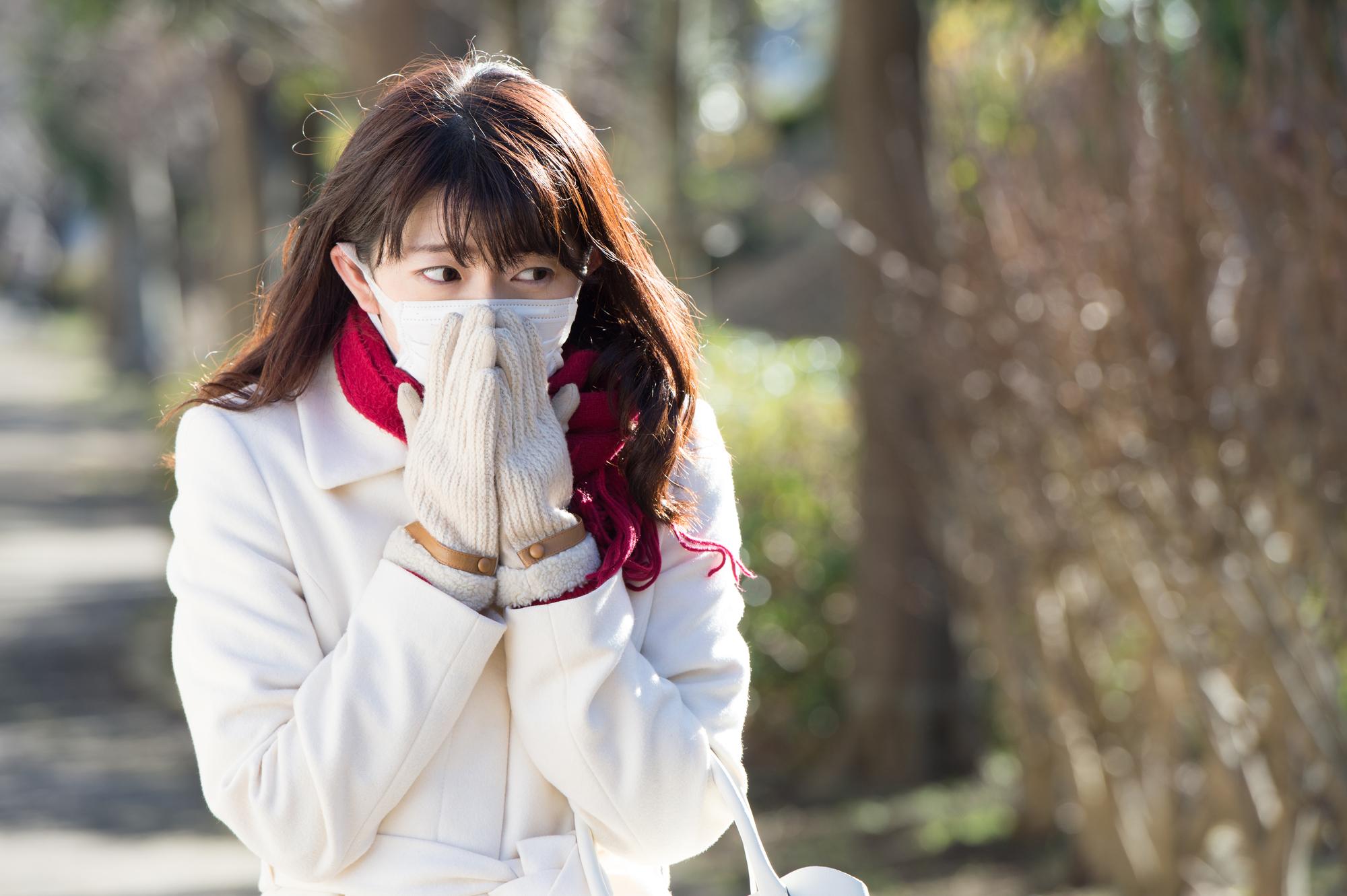 冬になると冷えを感じる