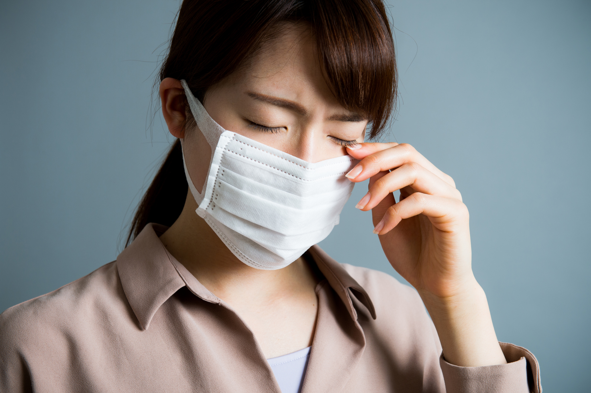 アレルギーに悩む女性が増えている