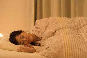 自律神経の改善のために十分な睡眠をとりましょう