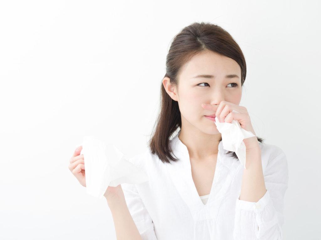 花粉症は冬のアレルギーの代表的存在