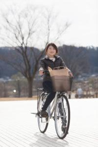サイクリングは手軽に始められる運動です