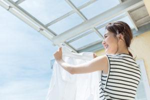 夏 花粉症 洗濯