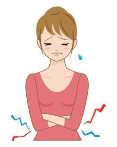 内臓に冷えが生じると血行も悪くなります
