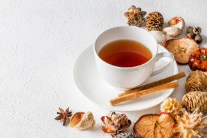 自律神経に効果的なショウガやお茶