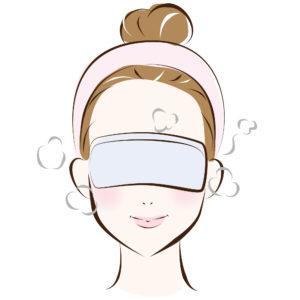 自律神経のバランスを整えるために目元から温めましょう