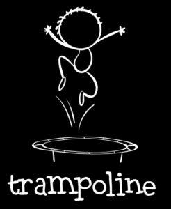 暗闇トランポリン