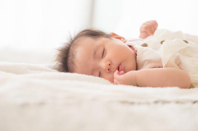 質の良い睡眠をとる子供