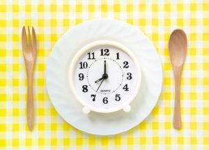 ウェスト減のための食事制限