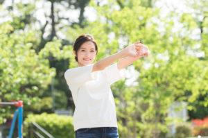 ストレス解消で過敏性腸症候群が軽減された女性